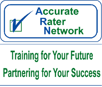 Accurate Rater Network Logo