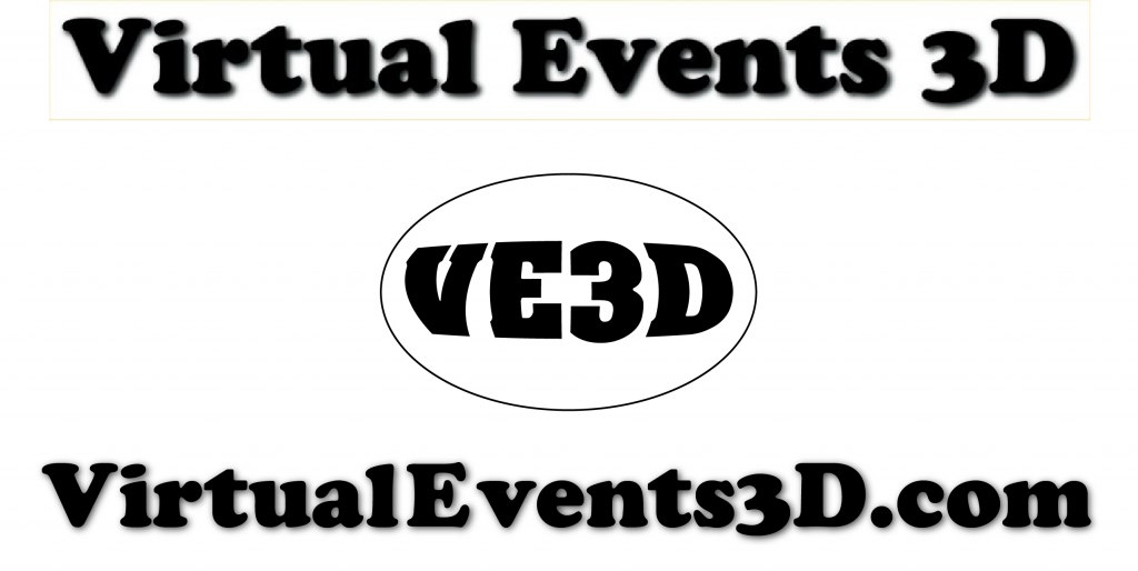 Virtual Events 3D Logo